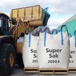 loader, pile+super saks